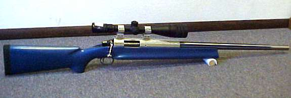 Sleeved Remington M-700SA .22-250 IMP.