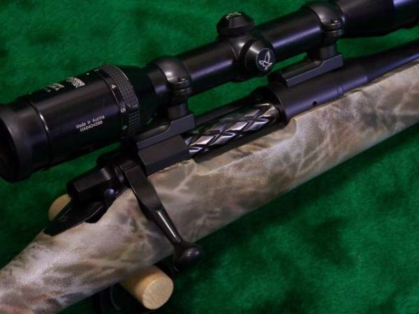 Lightweight Remington M-700 308 Win. Right Side Action