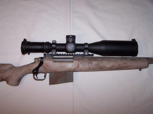 Custom .300 Win with Nightforce Scope
