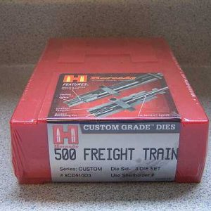 500 Freight Train Hornady Dies